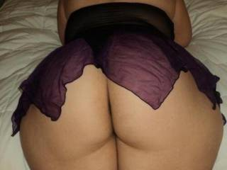 After our night out the wife couldn\'t wait to get home and get fucked. She bent over and was ready to take it
