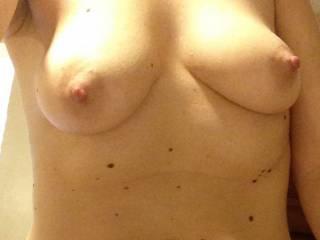 Soft nipples need sucked