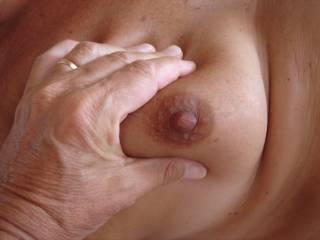 my wife's tits