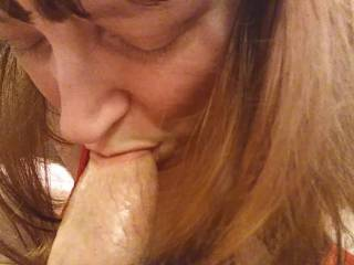 I am a lucky woman to have a nice thick cock whenever I need it. Having my man's juicy cock in my mouth is an oral delight, especially when he explodes with his delicious cum in my mouth. Take a look at my newest video to see me quench my thirst.