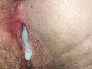 We never use condoms. She wants to feel the hot rush of cum shooting up inside her.