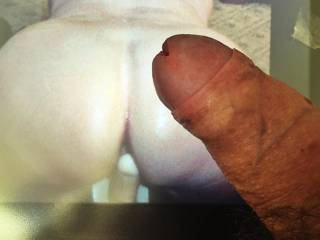 Before stroking my cock with your sweet nude pics...