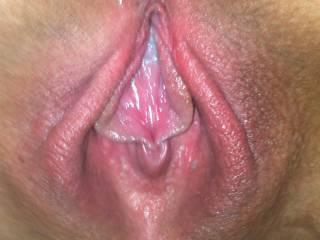 Cum dripping little slut