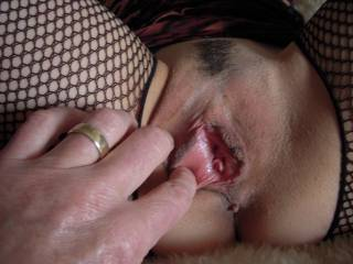 """There is nothing hotter than spreading open a married woman's pussy lips and revealing her pussyhole & clit .. seeing her butthole makes is even hotter """""""""""""""""""