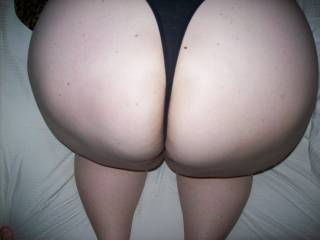 BBW I taught how to take it up her thick ass, and she loves it and cums all the time with a cock up her big butt