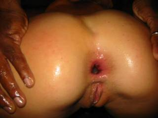 wife used a dildo on her ass but wouldnt let me  fuck her was so pissed and hard