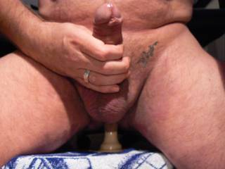 Just me having fun with my small dildo