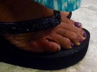 My wife's feet