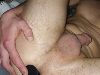 First time a anal plug in my virgin asshole