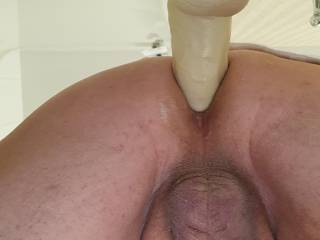 Wish I had someone with a strapon to give it to me really hard....a real cock in my ass would be better