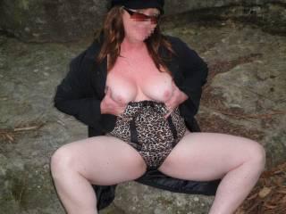 we love outdoor sex & flashing! love to meet & fuck you here!