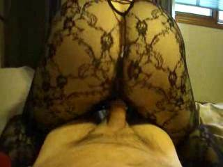 riding my cock cowboy and pumping and coating it with her cum
