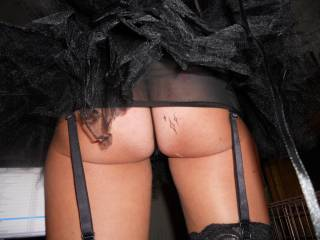 lovely view. now bend over for the attention that arse deserves x