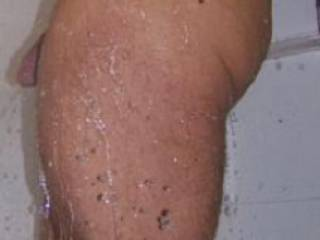 Shower Body Shot with Cock