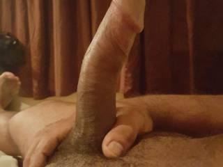 Mmmmmmmm my hubbys dick taste like chocolate, who wants a taste?