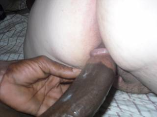 that cock is huge!!!! i can see how much you enjoyed it by the cum on his shaft!! where can i find my own bbc like that?