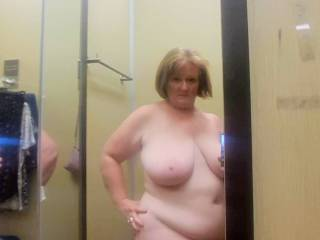 Wife sending me pics from dressing room