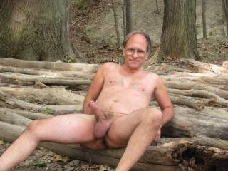 """I was out in the woods on a Hot Summer day When I was thinking of this HOT Women that I once DATED years ago that I """"Fucked.""""  She had the most """"HOTTEST PUSSY"""" that I had ever fucked before. Every time I think of her, This is what it gives me. A Nice """"BIG"""