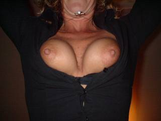 need my nipples sucked by one or two people .....