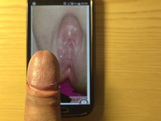 I can't wait to put my hard cock in your wet pussy!!! mmmmh!