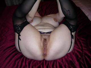 Yes I would love to fuck her and make her scream with joy on the end of my hard cock. I would fill her pussy with my cock and juice for you to clean up after xx
