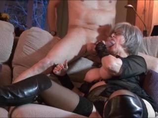 We had so many requests to see the final part of our sexy lawyer - so here she is doing what she loves doing!! Next time a good fucking perhaps!! xxx