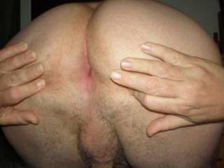 Too late, I have already shot my load looking at your tight arse - nice pic !