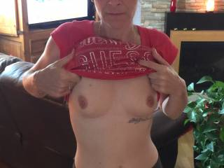 my sexy little tits for you