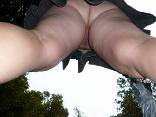 Now thats what I call an upskirt .What do you reckon ?