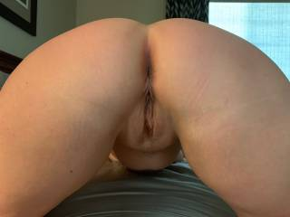 Wifes hot tight natural blonde pussy