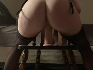 Gettin' that pussy wet and ready to be fucked by a real cock :)