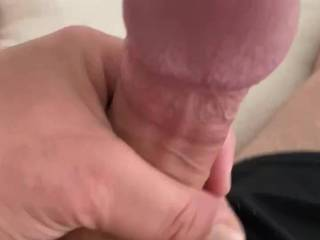 Here I am stroking my big beautiful throbbing cock. This cumshot was amazing! Let me know what you think