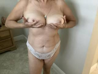 Wife loves boobs sucked