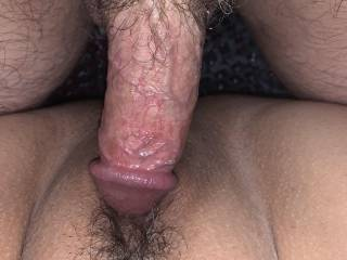 Nothing feels better than sliding my dick in her sweet pussy!!