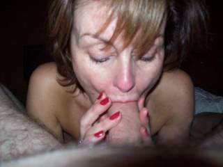 Want to suck my cock like that! i had to vote for your pic, it's so hot! Cum talk to me soon!