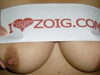 No way I love looking at your big sweet boobs. Love them.