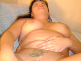 who will lick my cum from her sweet pussy
