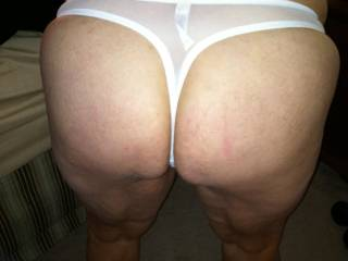 white knickers...great arse....what more....love it