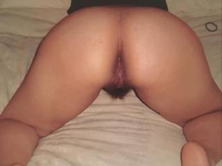 I\'m ready for you....which hole do you want?