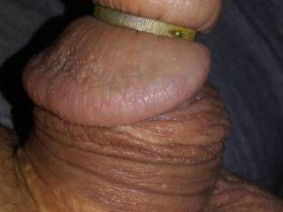 my small one and its head ring