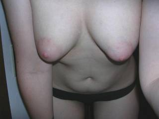 Wow, those are some seriously great tits, i would love to blow à load on those sometimes. Of you live naar Rome and are interested please PM me, as i travel to Rome occasionally.  Regards Danny