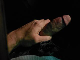 Just horny while driving
