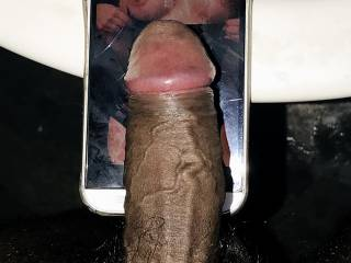 AmyHawk always wanted my black cock in her white pussy. She wanted to see my cock on her body and I made her request. Who wanna see this black cock sliding in to AmyHawk's pussy. Hmm it will be a perfect fit... my cock got hard again.