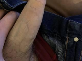 My soft long foreskin