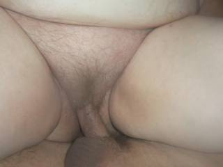 My Cock Fucks Hairy Granny Cunt