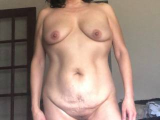 Once again....Melissa knows what she has a mature 50 yo woman...and Isn\'t ashamed to show it off.  We both hope you are enjoying it!