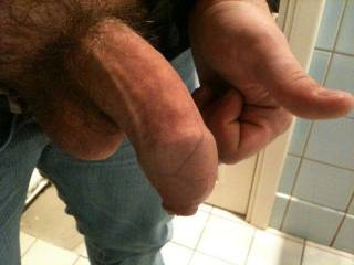 Nice uncut cock you have - would love to play with it and that skin