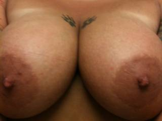 I want to pull my hard cock out of your wet pussy an have those lovely breast wrapped around it till I Cumm long an hard on em !