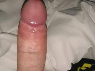 Looking at your nice cock as mad mine stiff like your nice cock