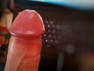Waiting for some girl to suck it ;)